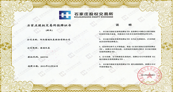 河北海通仪表股份有限公司挂牌证书.png